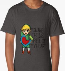 Legend Of Zelda - The Last Piece Long T-Shirt