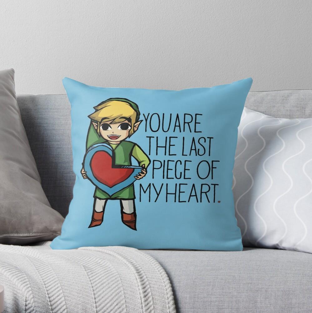 Legend Of Zelda - The Last Piece Cojín