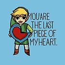 Legend Of Zelda - The Last Piece by Seignemartin