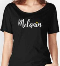 Melanin African Pride  Women's Relaxed Fit T-Shirt