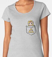 Legend Of Zelda - Pocket Zelda Women's Premium T-Shirt