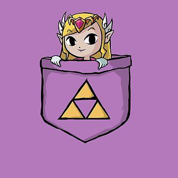 Legend Of Zelda - Pocket Zelda by Seignemartin