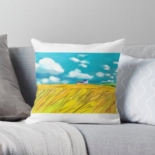 Prairies Throw Pillow