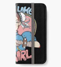 Fight Like A Girl - Chun Li (Street Fighter) iPhone Wallet/Case/Skin