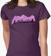 Fellowship in the morning Women's Fitted T-Shirt