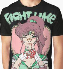 Sailor Moon- Fight Like a Girl (Sailor Jupiter) Graphic T-Shirt