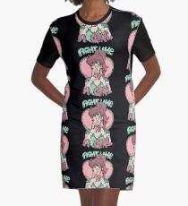 Sailor Moon- Fight Like a Girl (Sailor Jupiter) Graphic T-Shirt Dress