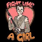 Fight Like A Scavenger (Fight Like A Girl) by Seignemartin