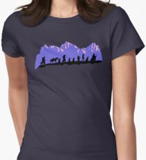 Fellowship in the evening Women's Fitted T-Shirt