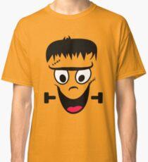 Frankenstein Face - Funny halloween Classic T-Shirt