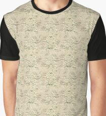 Siskiyou Trees Knit Graphic T-Shirt