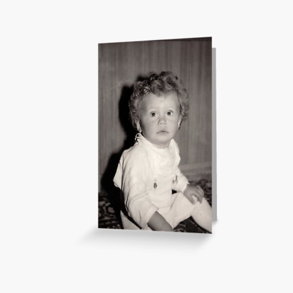 Baby Basia Greeting Card