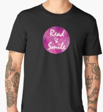 Read & Smile Men's Premium T-Shirt