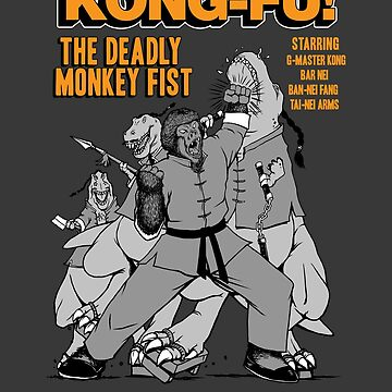 Kong-Fu Deadly Monkey Fist Martial Arts by pigboom