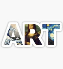 Berühmte Kunstwerke | Für Künstler Sticker