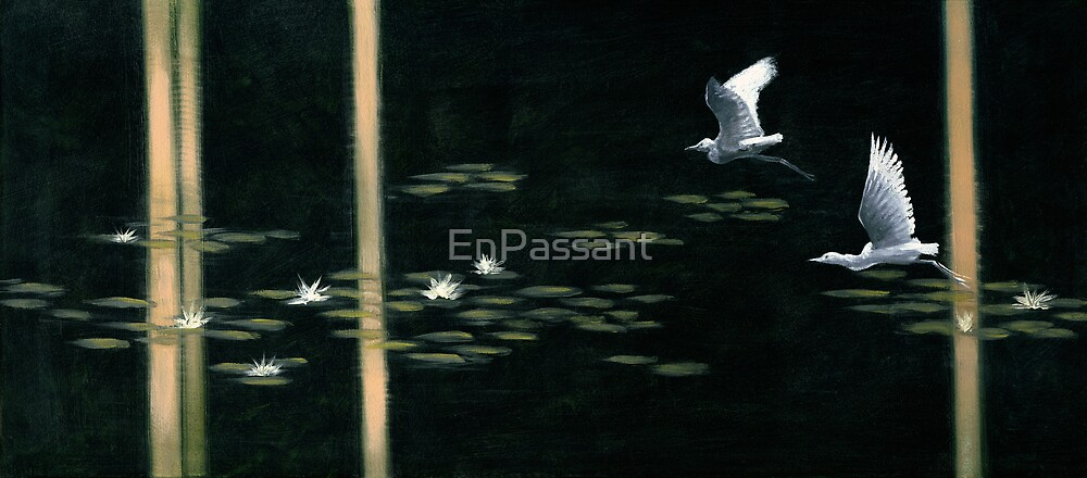 Swamp Lilies by EnPassant