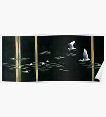 Swamp Lilies Poster