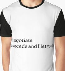 Negotiations Graphic T-Shirt