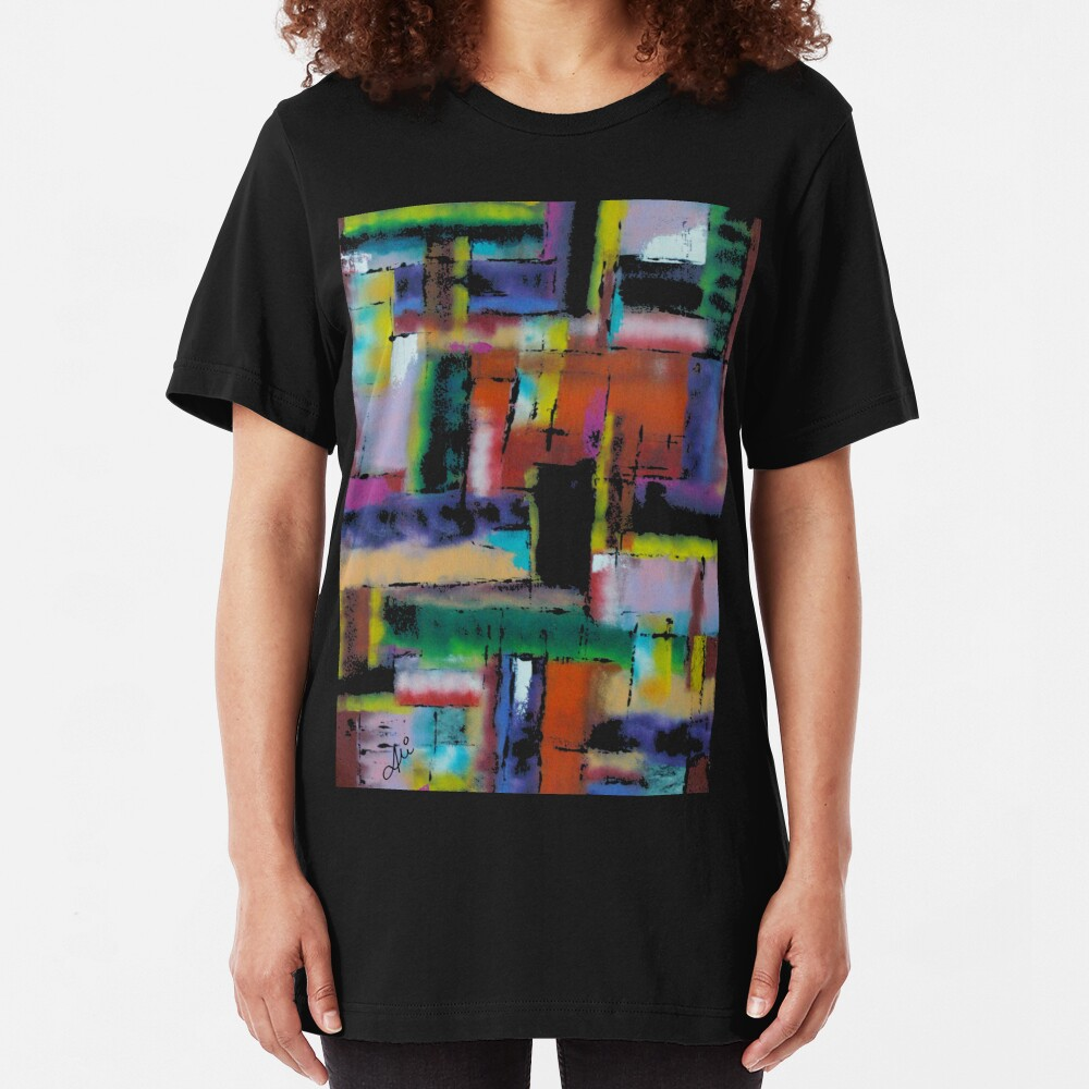 Kaleidoscope Slim Fit T-Shirt