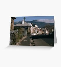 Battery Point, Hobart Greeting Card