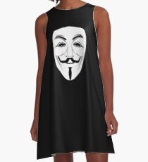 Guy Fawkes A-Line Dress