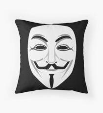 Guy Fawkes Throw Pillow