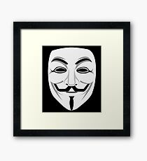 Guy Fawkes Framed Print