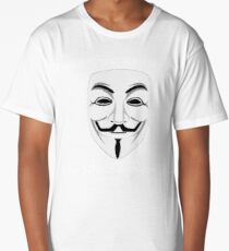 Guy Fawkes - Remember Remember Long T-Shirt