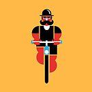 Wheels & Mustache by Marco Recuero