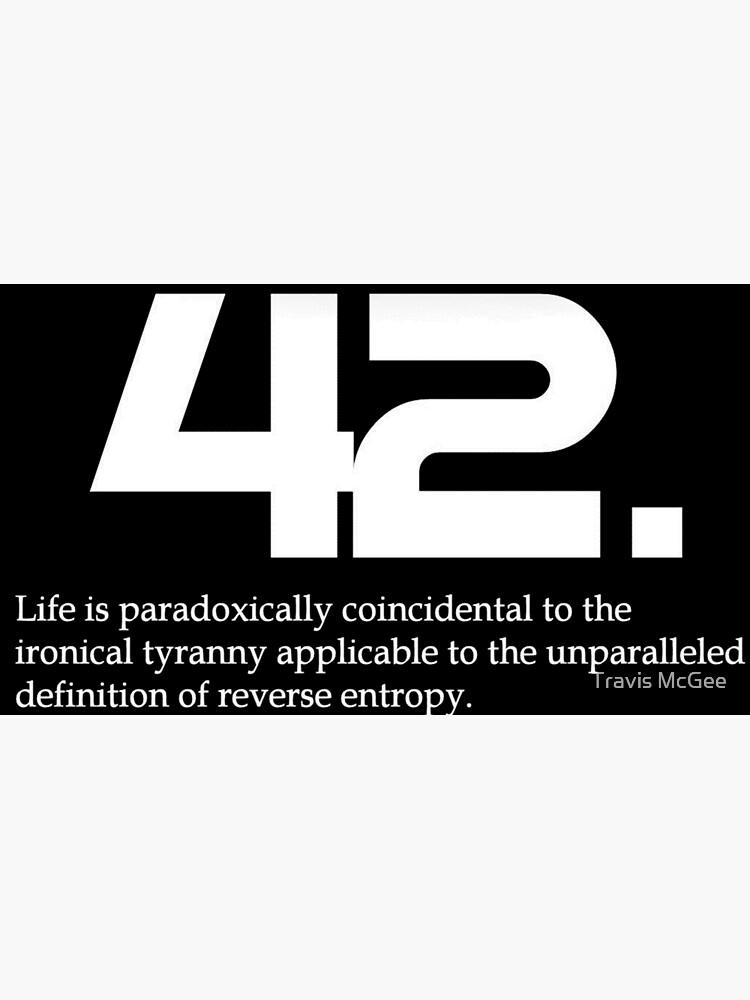 der sinn des lebens 42