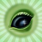 Alien Eye - Stardust by sandygrafik