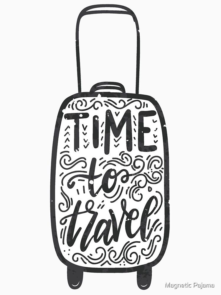 Time to Travel Wanderlust Travel by MagneticMama