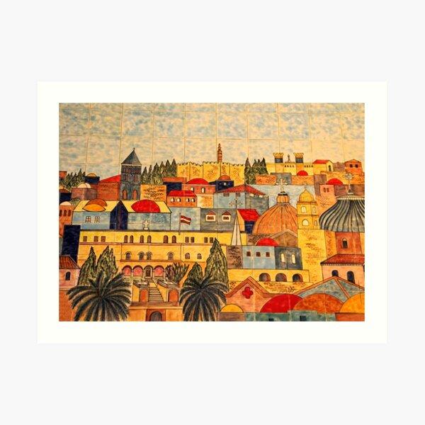 Jerusalem Tiles Art Print