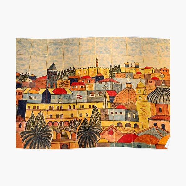 Jerusalem Tiles Poster