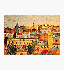 Jerusalem Tiles Photographic Print