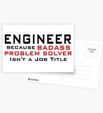 Engineer Postcards