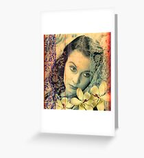 Scarlett Leigh with Magnolias from Tara Greeting Card