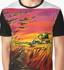 'prairie sunsets' Graphic T-Shirt