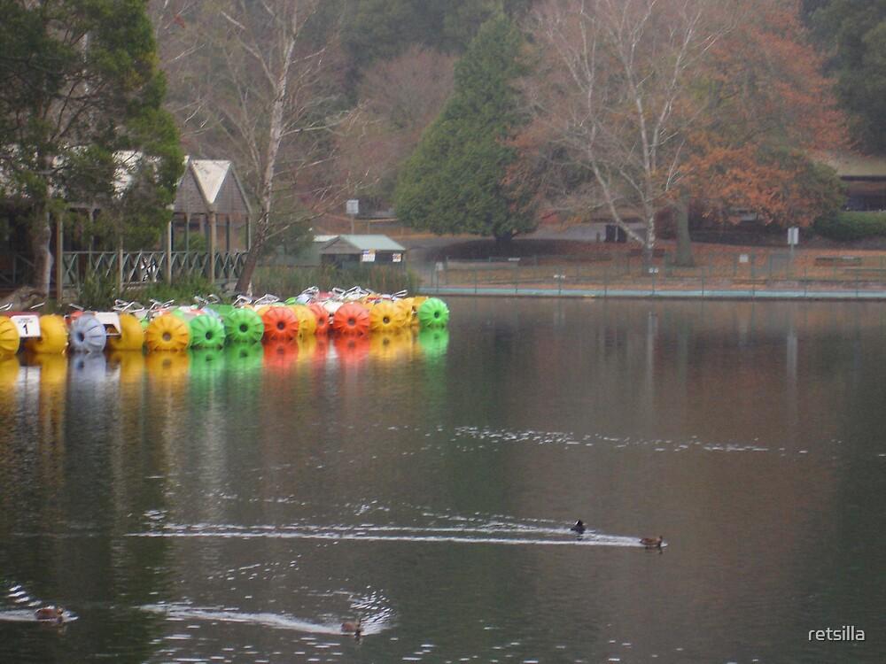 Autumn At The Lake by retsilla