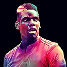 Colourful Pogba by Mark White