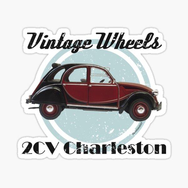 Roues Vintage - 2CV Charleston Sticker