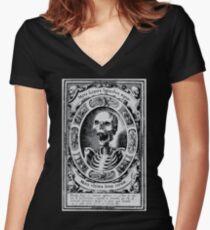 Memento Mori - 1500's Women's Fitted V-Neck T-Shirt