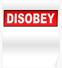 Anonymous Disobey Parody  Poster