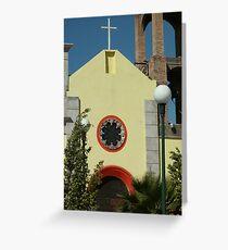 San Blas Church Greeting Card