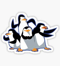 The cutest penguins Sticker