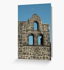 Church Ruins --- San Blas Greeting Card