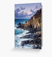 Crown Mines at Botallack Greeting Card