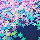 Sterne Konfetti von ericleeart