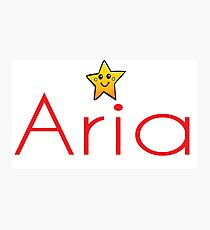 Inspired by The Color of Money / Name Aria Photographic Print