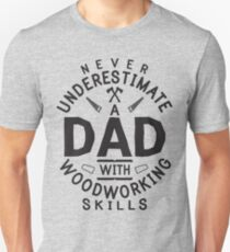 Do it yourself dad gifts merchandise redbubble funny woodworking carpentry shirt for carpenter dad gift diy unisex t shirt solutioingenieria Gallery